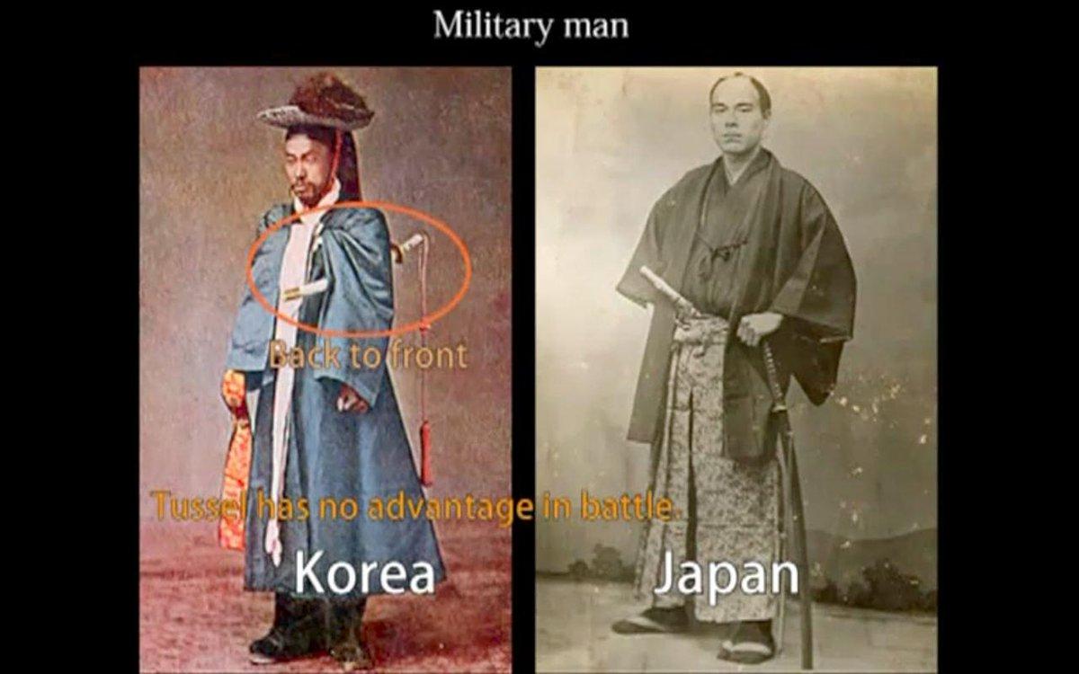 日本刀の起源を主張する韓国の刀の持ち方がおかしすぎると話題に
