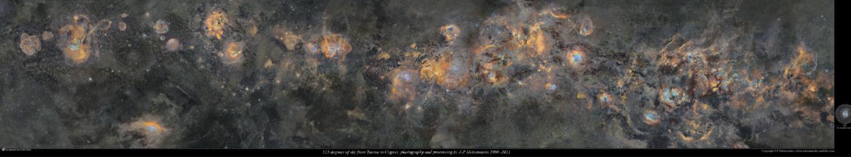 これが本当の天の川の姿か。 作成に12年もかかった「天の川のパノラマ画像」が公開される