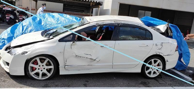大学生が時速150kmで運転し事故(無傷)「時速100km前後で曲がることを危険だと思っていなかった」 同乗の女子大生(20)は四肢麻痺