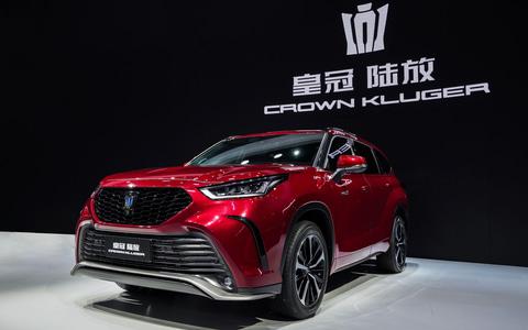 トヨタ、新型SUV「クラウン クルーガー」発表 2.5リッターHV