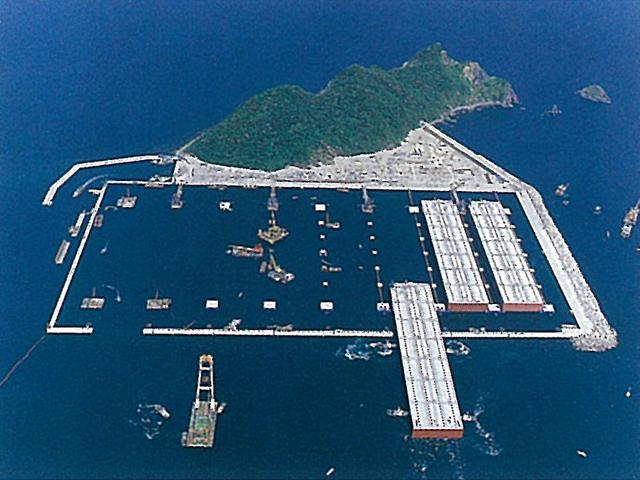 グーグルマップで遊んでたら福岡県に謎の島を発見した