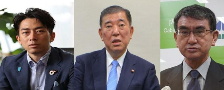 【菅首相退陣】河野太郎、石破茂、小泉進次郎氏が総裁選出馬を検討・・・岸田陣営 「受けて立つ」