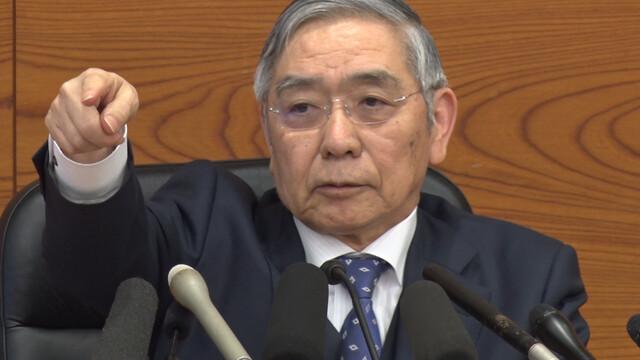 【日銀】黒田東彦総裁「いくら金融緩和をしても国民のデフレマインドが強すぎてデフレ脱却できない」