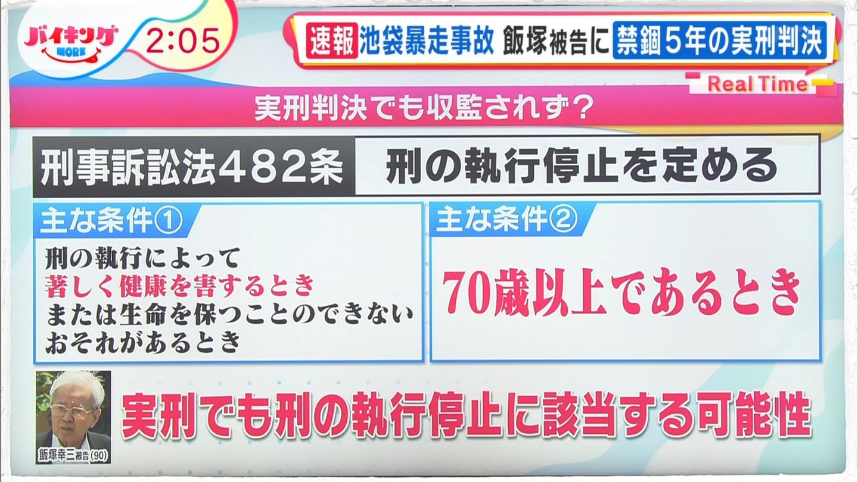 【速報】飯塚幸三、控訴せず 「収監を受け入れ、罪を償いたい」」 実際に刑務所に収監されるかが今後の焦点